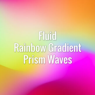 Seamlessly looping iridescent flowing gradient abstract waves. Animated background.