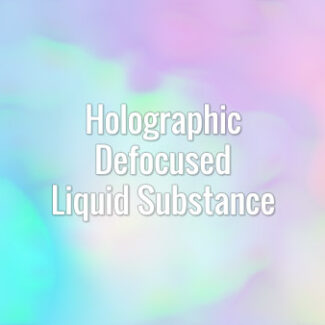 Slowly flowing abstract fluid iridescent prism waves. Seamlessly looping animated background.