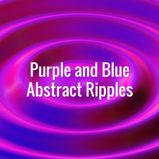 Seamlessly looping blue and purple abstract waves. Animated background.