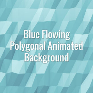 Seamlessly looping flowing blue polygonal surface. Animated background.