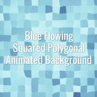 Seamlessly looping flowing blue square surface. Animated background.