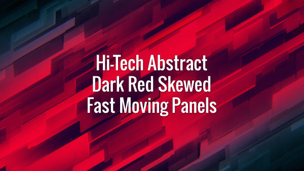 Abstract diagonal red fast moving rectangles. Seamlessly looping animated background.