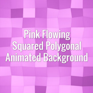 Seamlessly looping flowing pink square surface. Animated background.