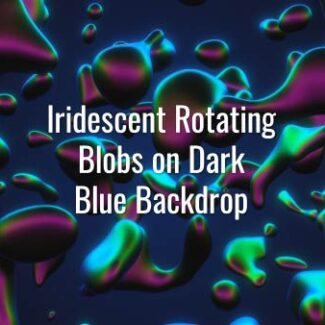 Seamlessly looping fast-rotating liquid 3D substance on dark backdrop. Animated background.