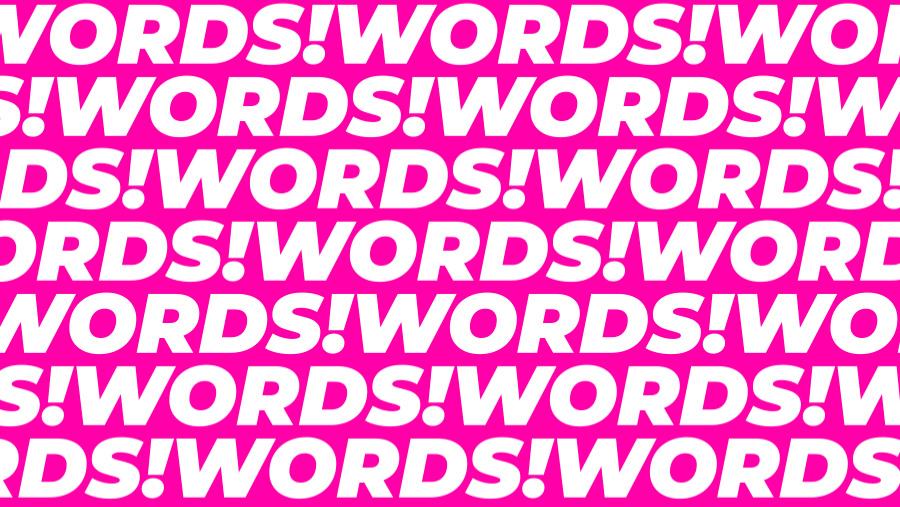 wordsandalsowords instagram