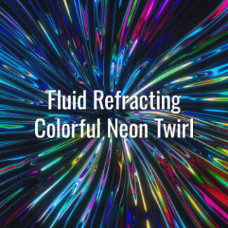 Seamlessly looping multicolored neon substance. Animated twirl background.